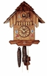 "CHALET CUCKOO CLOCKS:  9"" FLOWERS  1 DAY MOVEMENT"