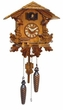 "QUARTZ CUCKOO CLOCK:  10"" FOREST  QUARTZ & MUSICAL"