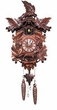 "QUARTZ CUCKOO CLOCKS:  15"" FOX w/ GRAPES  MUSICAL"