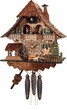 MUSICAL CHALET  BLACK FOREST CUCKOO CLOCKS GIRL HORSE RIDER  ONE (1) DAY MOVEMENT