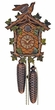Beautiful Green Leaves Schneider Cuckoo Clock