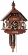 "CHALET CUCKOO CLOCK:  12"" HEIDI HOUSE 1 DAY MOVEMENT"