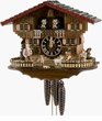 "Musical Chalet Cuckoo Clock 11"" Heidi House 1 Day Movement"