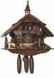 Horses Cuckoo Clock Musical 8 Day Chalet