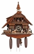 Horseman & Carpenters 8 Day Musical Chalet Cuckoo Clock
