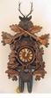 "BLACK FOREST CUCKOO CLOCKS:  20"" HUNTER  8 DAY MOVEMENT"