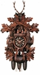 "BLACK FOREST CUCKOO CLOCK 19"" HUNTER  8 DAY MOVEMENT MUSICAL"