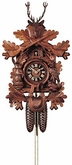 "BLACK FOREST CUCKOO CLOCKS 19"" HUNTER  8 DAY MOVEMENT"