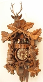 "Hunter Cuckoo Clock 20"" Musical  with Dancers"