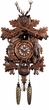 "16"" HUNTER w/ ANIMALS  QUARTZ CUCKOO CLOCK"