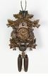 "BLACK FOREST CUCKOO CLOCKS:  20"" HUNTER w/ ANIMALS  8 DAY MOVEMENT"