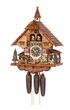 Musical Cuckoo Clock Kissing Boy Girl 8 Day Movement