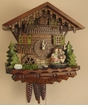 Kissing Couple Musical Cuckoo Clock