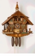 Kissing Lovers  8 Day Musical Cuckoo Clock