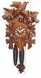 "CUCKOO CLOCK 9"" LEAF & BIRD  1 DAY MOVEMENT"