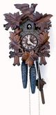 Cuckoo Clocks  1 Day Leaf and Bird