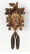 "CUCKOO CLOCKS 13"" LEAF & BIRD  8 DAY MOVEMENT"