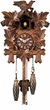 "QUARTZ CUCKOO CLOCKS:  10"" LEAF & BIRD  MUSICAL"