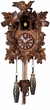MUSICAL  QUARTZ CUCKOO CLOCK LEAF & BIRD