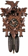"CUCKOO CLOCK 14"" LEAF & BIRDS  8 DAY MOVEMENT"
