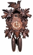 "CUCKOO CLOCK:  16"" LEAF & BIRDS  8 DAY MOVEMENT"
