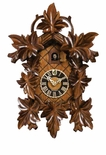 8 Day Cuckoo Clock Leaves & Bird
