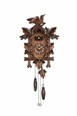 quartz german cuckoo clock Leaves and Bird