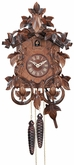 CUCKOO CLOCK LEAVES & VINES ONE DAY MOVEMENT