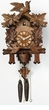 "CUCKOO CLOCKS:  13"" MOVING BIRDS  1 DAY MOVEMENT"