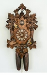 Anton Schneider Moving Birds Eight Day Cuckoo Clock