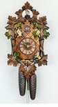 Moving Birds Anton Schneider 8 Day Cuckoo Clock