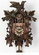 "GERMAN CUCKOO CLOCK:  16"" MOVING BIRDS  8 DAY MOVEMENT MUSICAL"