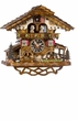 Moving Goats Cuckoo Clock 1 Day Movement