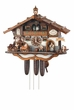 MUSICAL BEER GARDEN CHALET CUCKOO CLOCK 8 DAY MOVEMENT
