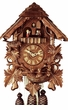 "CHALET CUCKOO CLOCKS:  16"" FEEDING BIRDS  8 DAY MOVEMENT"
