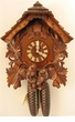 "CHALET CUCKOO CLOCK:  14"" OWL  8 DAY MOVEMENT"