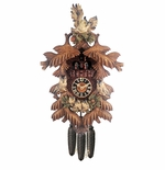 Owls 8 Day Musical Cuckoo Clock