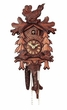 "CUCKOO CLOCKS:  13"" PHEASANT & PINE TREES  1 DAY MOVEMENT"
