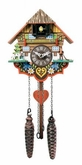 Musical Multi-Colored  Quartz Cuckoo Clock