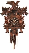 "CUCKOO CLOCK 12"" FEEDING BIRDS  1 DAY MOVEMENT"