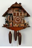 Suitor and Maiden Musical Chalet Cuckoo Clock