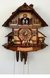 Tapping Beer Drinkers 8 Day Cuckoo Clock