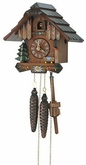 Traditional Chalet 1 Day Cuckoo Clock