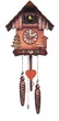 "CHALET CUCKOO CLOCK:  8"" TRADITIONAL  MUSICAL & QUARTZ"