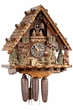 Hunter Moose Bear Unique Cuckoo Clock Musicasl 8 Day