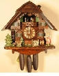 Chalet Cuckoo Clock Musical Girl & Boy