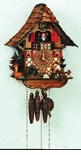 Chalet Musical  Cuckoo Clock Wood Chopper