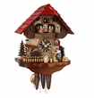CHALET CUCKOO CLOCK MUSICAL WOOD CHOPPER