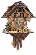Chalet Cuckoo Clock Wood Chopper 1 Day