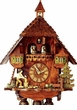 "BLACK FOREST CUCKOO CLOCKS:  18"" WOOD CHOPPER 8 DAY MOVEMENT"